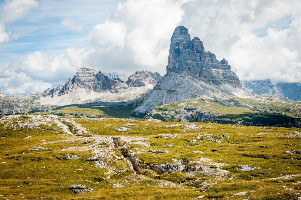 Scenary In The Dolomites